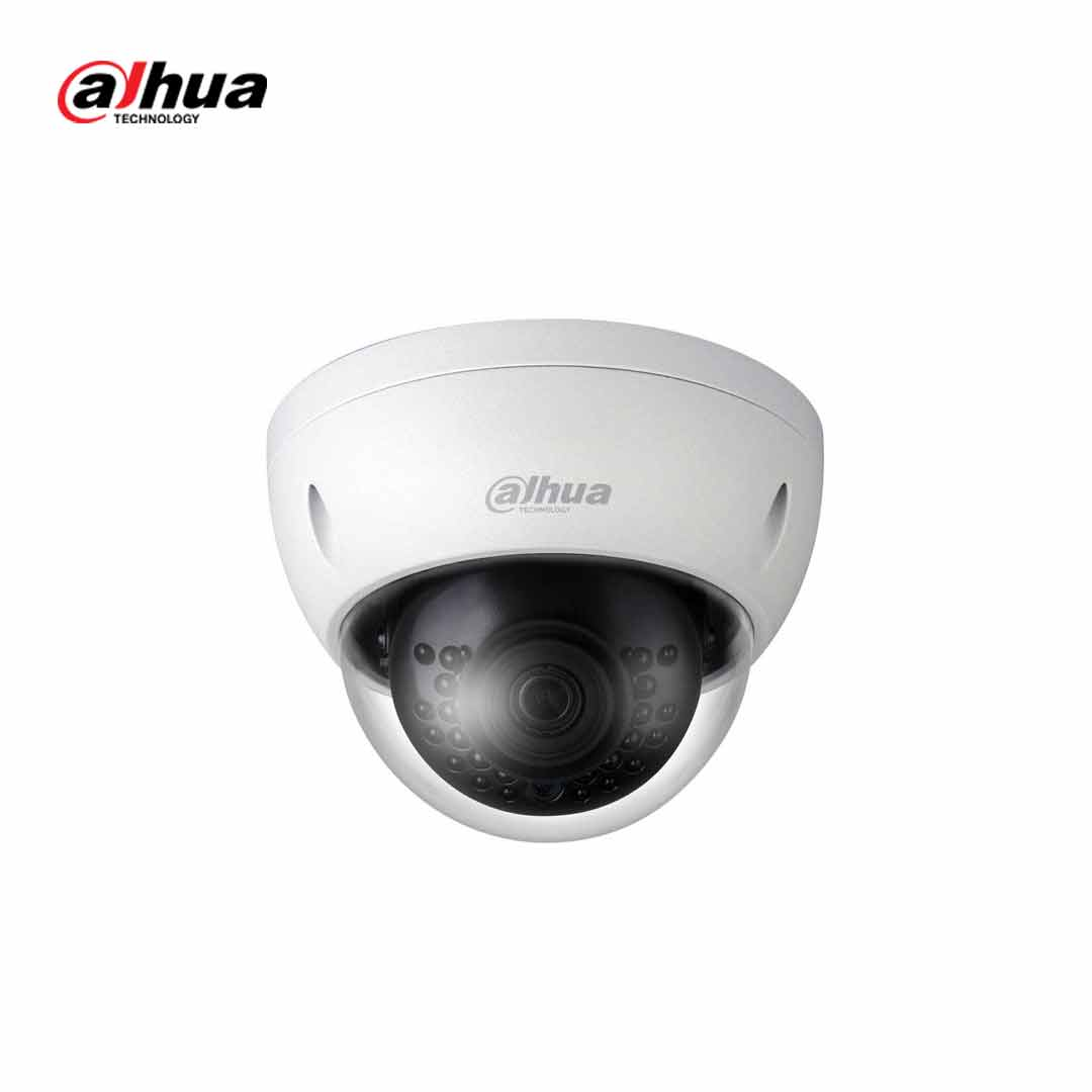Dahua DH-IPC-HDBW1230E 2MP 1080p H.265 P.o.E IP67 IK10 大華迷你半球型室內外防水防爆夜視閉路電視網路監控攝影機