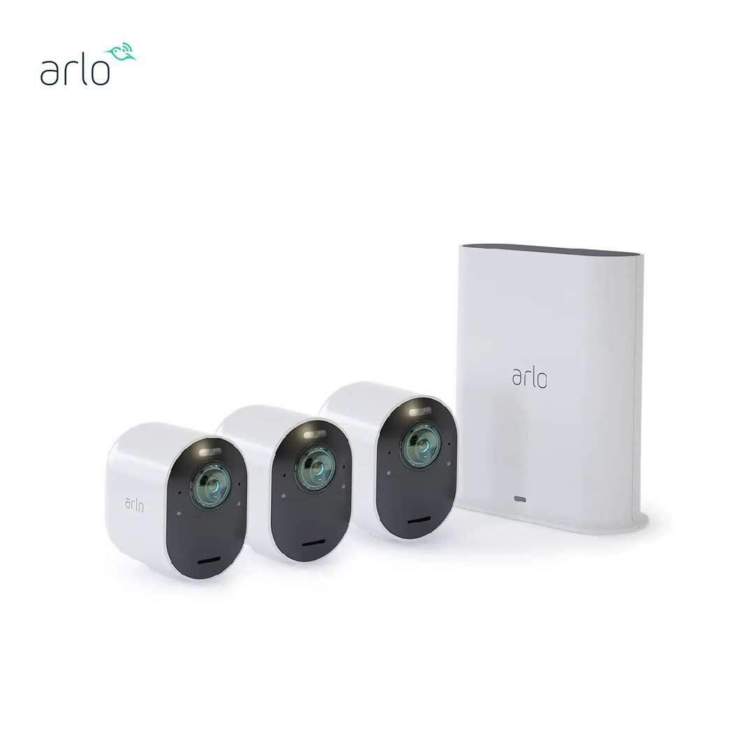 Arlo Ultra 4K UHD VMS5340 無線網絡攝影機 3 鏡套裝 家居監控鏡頭