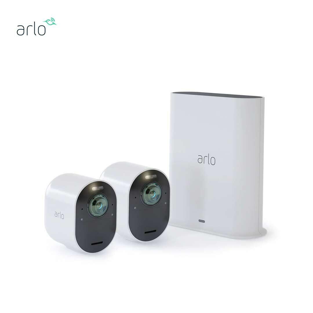 Arlo Ultra 4K UHD VMS5240 無線網絡攝影機 2 鏡套裝 家居監控鏡頭